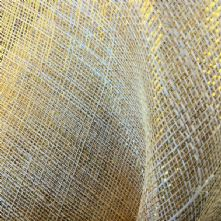 Natural Gold Thread Sinamay